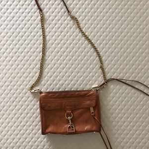 Rebecca Minkoff mini MAC in camel